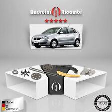 KIT DISTRIBUZIONE A CATENA VW POLO IV 1.2 12V 47KW 64CV 2009 ->