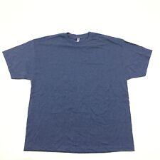NEW Plain Tshirt XXL 2XL Polycotton T Blue Heather Alstyle Classic Short Sleeve