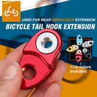 2/4PCS Alloy MTB Bike Bicycle Rear Mech Derailleur Hanger Convertor Adapter !