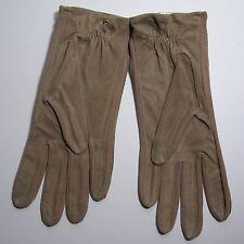 NOS Vintage Fownes Melova Suede Gloves Size 7