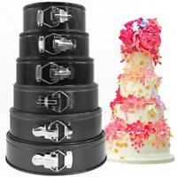 Round Non-Stick Tins Bakeware Springform Tray Cake Pan Birthday Baking Cake Set