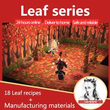 ALL Maple Leaf DIY (18 DIY) + 500 maple leaf+pine cone+acorn   Animal:Crossing
