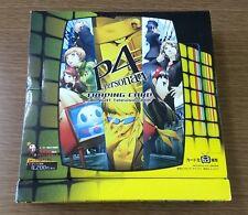 RARE unopened Persona 4 P4 trading card MIDNIGHT Television BOX PS PlayStation