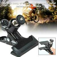 """Spring Ball Head Holder Mount Clip Clamp 1/4"""" Screw Camera Compact Y9R7 C5G9"""