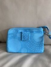 Thirty One brand turquoise clutch wallet new