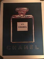 Original Vintage Andy Warhol Chanel Poster  1998