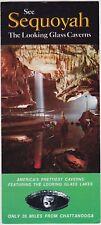 1970's Sequoyah Looking Glass Caverns Alabama Brochure