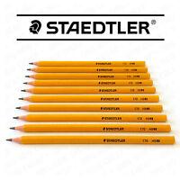 STAEDTLER Bois Gratuit Crayons Hb - Forme Hexagonale - Paquet De 10 - 170HB1BK10