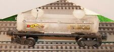 Lionel 2465 Sunoco Tank Car Paint Removed