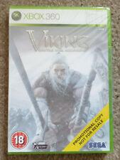 Microsoft Xbox 360 Game Viking Battle for Asgard New Sealed Promo Version