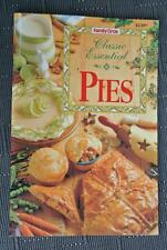 Family Circle~ CLASSIC ESSENTIAL PIES GR8 Recipes~RARE~ FAMILY or PARTY FOOD
