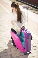 Maletas y equipaje de plástico rígido