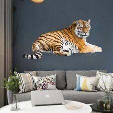 Leopardo Grande Gato Animal Pared Adhesivo Calcomanía Vinilo Arte A4