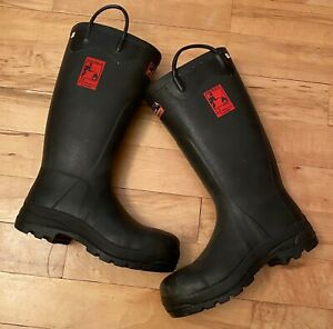 Rare Hunter Firefighter 4000 Super Safety Wellies Gay Fetish. Rubber Latex Gummi