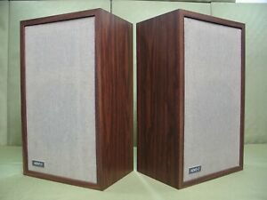 Advent/1 Speakers ( Just Professionally Re-Foamed ) All Original with Manual