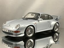 GT Spirit Porsche 911 (993) GT2 3.6 Twin Turbo Silver Resin Model Car 1:18