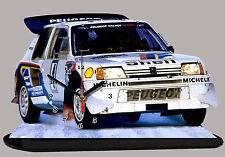 MODEL CARS, PEUGEOT 205 T16 GROUP B-01 with Clock