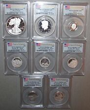 2012 Limited Edition Silver Proof Set  8 Coins  PCGS PR69  FS  Extremely Rare!