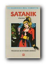 ★ SATANIK BUR CLASSICI DEL FUMETTO VOLUME BROSSURATO