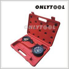 "Vacuum Fuel pump Test Gauge Pressure Tester With 3.5"" Manifold Test Kit F299183"