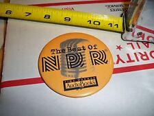 THE BEST OF N P R TIME WARNER AUDIO BOOKS PIN