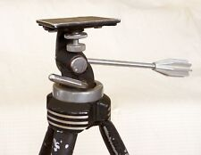 "Vintage STAR D Davidson Tilt Pan Camera Tripod 54"" Art Deco Design  ~1940"