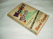SCARCE IN DW ! Money and Other Stories KAREL CAPEK 1929 HB Third LOVELY DW ART !