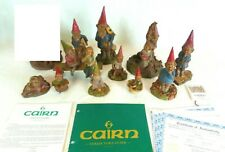 Tom Clark Cairn Gnomes Thomas Clark Hand Signed w/Coa Gnomes Retired Lot of 12