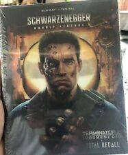 Schwarzenegger Dbl Feature - Terminator 2|Judgement Day & Total Recall Steelbook