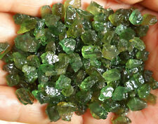 Natural High-quality Green Apatite Rough Gem Specimen 185pcs or so 80g LHSL7013