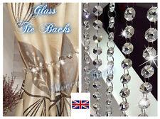 Clear Diamond Crystal Beads Tie Back -  Curtains & Voiles 48 cm