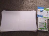 Nintendo Wii Balance Board Nintendo + Wii Fit Video Game Bundle