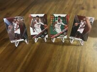 2019-20 Panini Mosaic PAUL GEORGE LOT GREEN & BASE WILL TO WIN 2 BASE Clippers