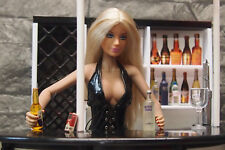 """1/6 Scale Vodka, Absolut, Bottle Alcohol Toy For 12"""" HotToys Kumik Phicen Barbie"""