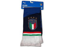 Puma Italien Fan Schal blau Italia Schal Squadra Azzurri Fanartikel 120x18 cm