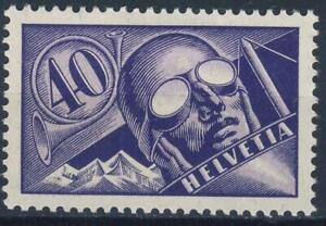 "1923 Switzerland MH OG Airmail stamp ""Pilot"" Michel #182,"
