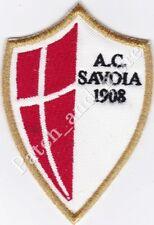 [Patch] SCUDETTO AC SAVOIA CALCIO stemma logo cm 6x9 toppa ricamo REPLICA -1018