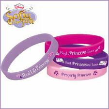 Disney Princess Sofia The First Rubber Wristband Bracelets Birthday Party Favour