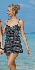 Charmanter Badeanzug/Badekleid mit Röckchen Gr. 44B von SUNMARIN! NEU!