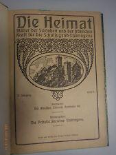 Die Heimat~ 17.Jahrgang /Thüringen Eisenach 1918/19/ Schuljugend Thüringen