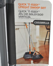 Casabella Quick n Easy Upright Sweep Set Graphite/Orange