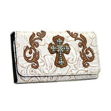 Women Western Cross Wallet