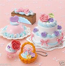 "Japanese DIY Whipple ""Rose Cake Set"" Fake Sweets Key Chain Making Kit"