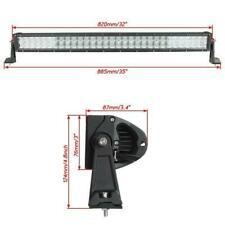 """32"""" 180W CREE Spot Flood Combo LED Work Light Bar SUV Truck 4X4 For Jeep Driving"""