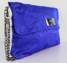 Diesel roundy clutch Abendtasche Tasche Henkeltasche Partytasche bag blue blau