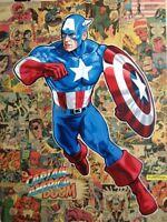 CAPTAIN AMERICA - surprise vintage comic book lot of 7 different Marvel comics