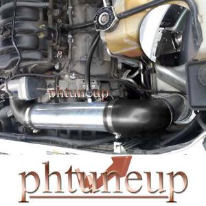 BLACK 2005-2010 CHRYSLER 300 C 300C 5.7 5.7L 6.1 6.1L COLD AIR INTAKE KIT