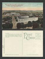 1910s #61565 BIRDS EYE VIEW FROM DOME OF US CAPITAL WASHINGTON DC POSTCARD