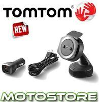 TOMTOM RIDER 40 400 500 SERIES CAR MOUNTING KIT MOTORCYCLE SAT NAV GPS MOUNT USB