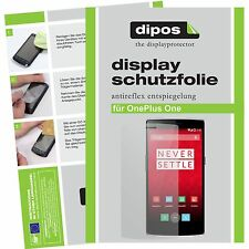 1x dipos Oneplus One Film de protection d'écran protecteur antireflet